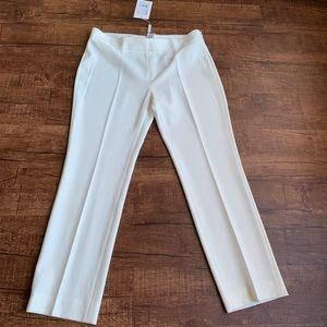 MaxMara GELLY ivory trouser plain front trouser
